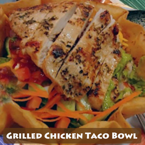 Grilled Chicken Taco Bowl