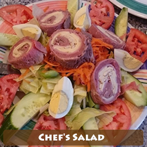 Astro's Very special chef's salad